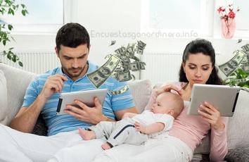 Encuestas pagadas ganar dinero por internet